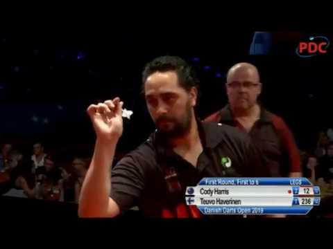 2019 Danish Darts Open Round 1  Harris vs Haverinen
