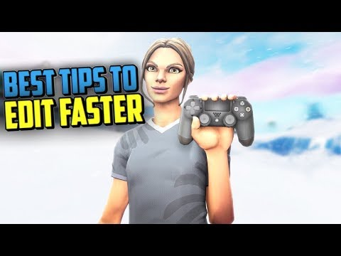 How to EDIT Faster on Controller! (PS4/XBOX)