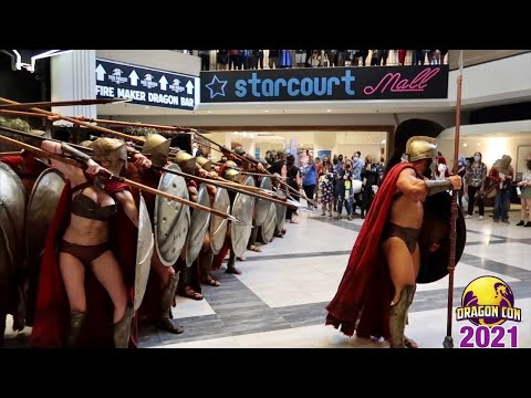 Download DragonCon 2021 Cosplay Overload - William Shatner Panel - Epic Star Wars Patio Party - 300 Spartans