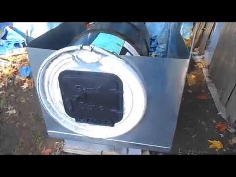 Building My Outdoor Furnace Heat Exchanger
