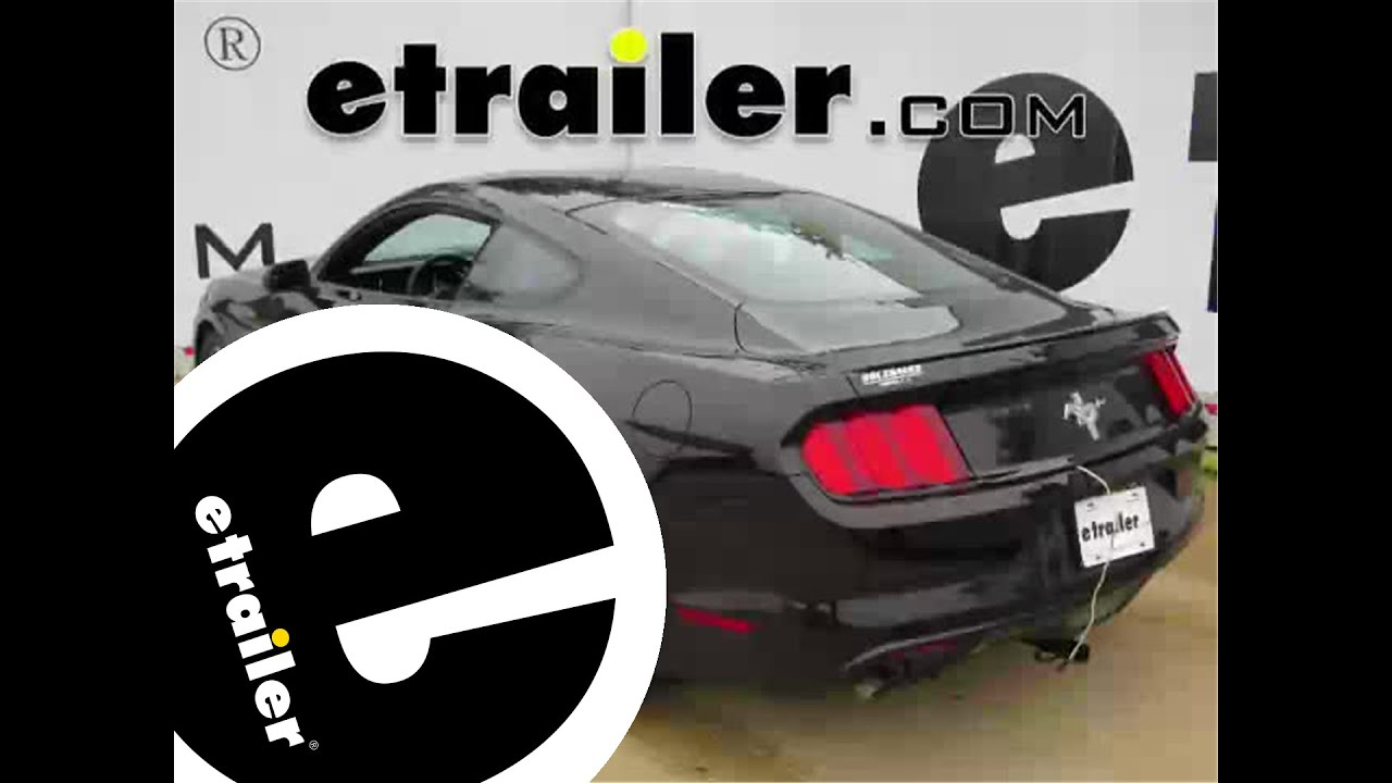 Install Trailer Wiring 2015 Ford Mustang 118487 Etrailer Youtube. Install Trailer Wiring 2015 Ford Mustang 118487 Etrailer. Ford. 2015 Ford Mustang Wiring At Scoala.co