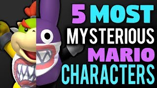 5 Most Mysterious Mario Characters
