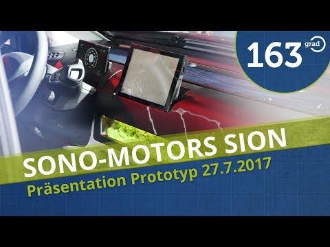 Sono Motors SION Prototyp - Meine Eindrücke von der Präsentation in München am 27.7.2017 - 4k