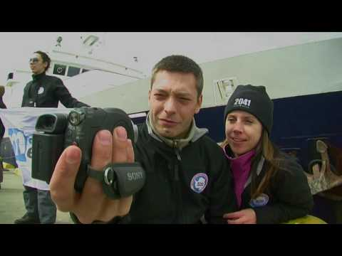 Antarctica Expedition November 2009 - Robert Swan's 2041 - Part1
