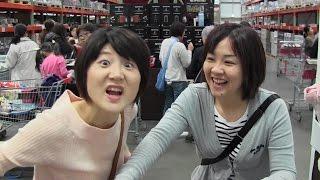 Costco (with Massy&Aya)3人で割る方法, 셋이서 장보고 돈 쉽게 계산하...