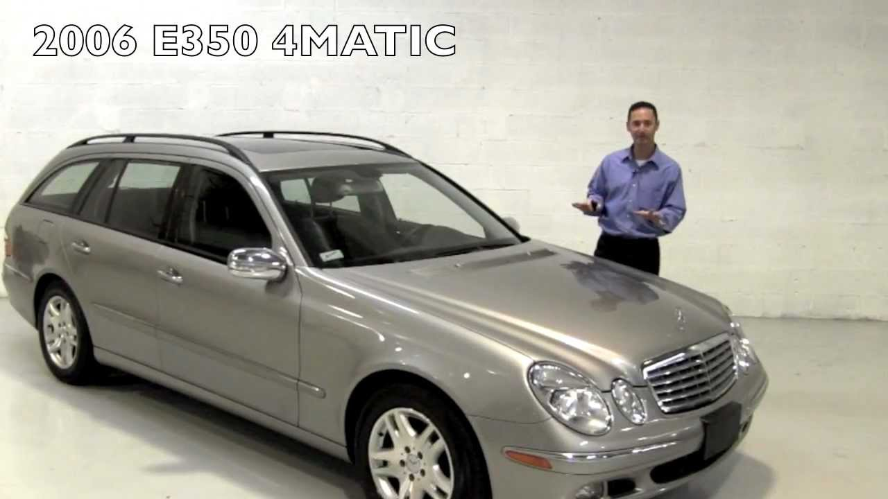 2006 mercedes-benz e350 4matic wagon gulfstream motorcars - youtube
