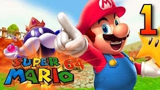RUNNIN' LIKE SANIC   Super Duper Mario 64 #1