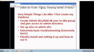 New Oracle DBA Career 7. Tips, Tools, Tricks for an Oracle Test DB on Linux
