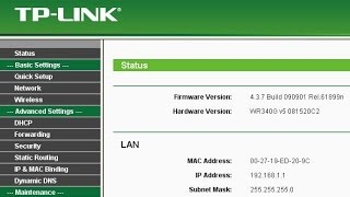 TP-Link WiFi Router Configuration step by step