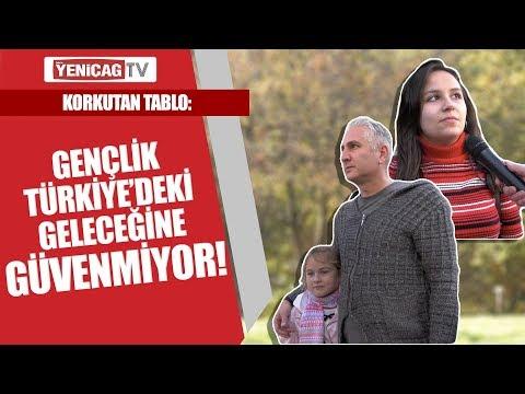 Korkutan tablo: Gençlik Türkiye'deki geleceğine güvenmiyor!