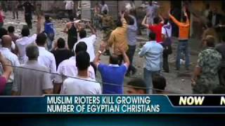 Muslim Rioters Kill Christians in Egypt