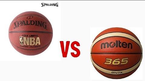농구인들이 궁금해하는 스팔딩공과 몰텐공 비교추천?  농구하는 여학생 