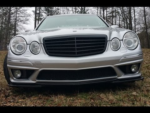 Mercedes E55 77mm FSP & Eurocharged Tune