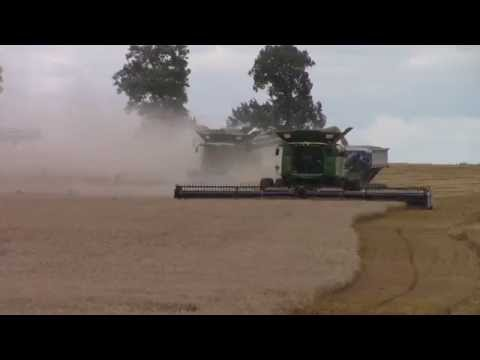 21 Minutes 11 Combines 1 Wheat Field