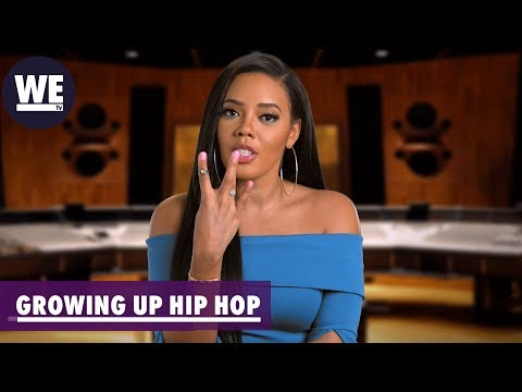 Catch Up w/ Angela Simmons | Growing Up Hip Hop | WE tv ...
