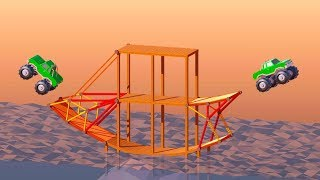 Making Things Fly in Poly Bridge 2