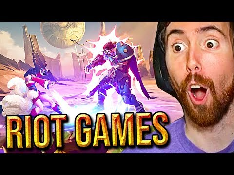 Asmongold Reacts To ALL New Riot Games (MMO/FPS/Action-RPG & Card Games)