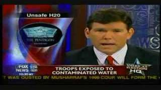 Kbr Halliburton gives U.S. troops contaminated water
