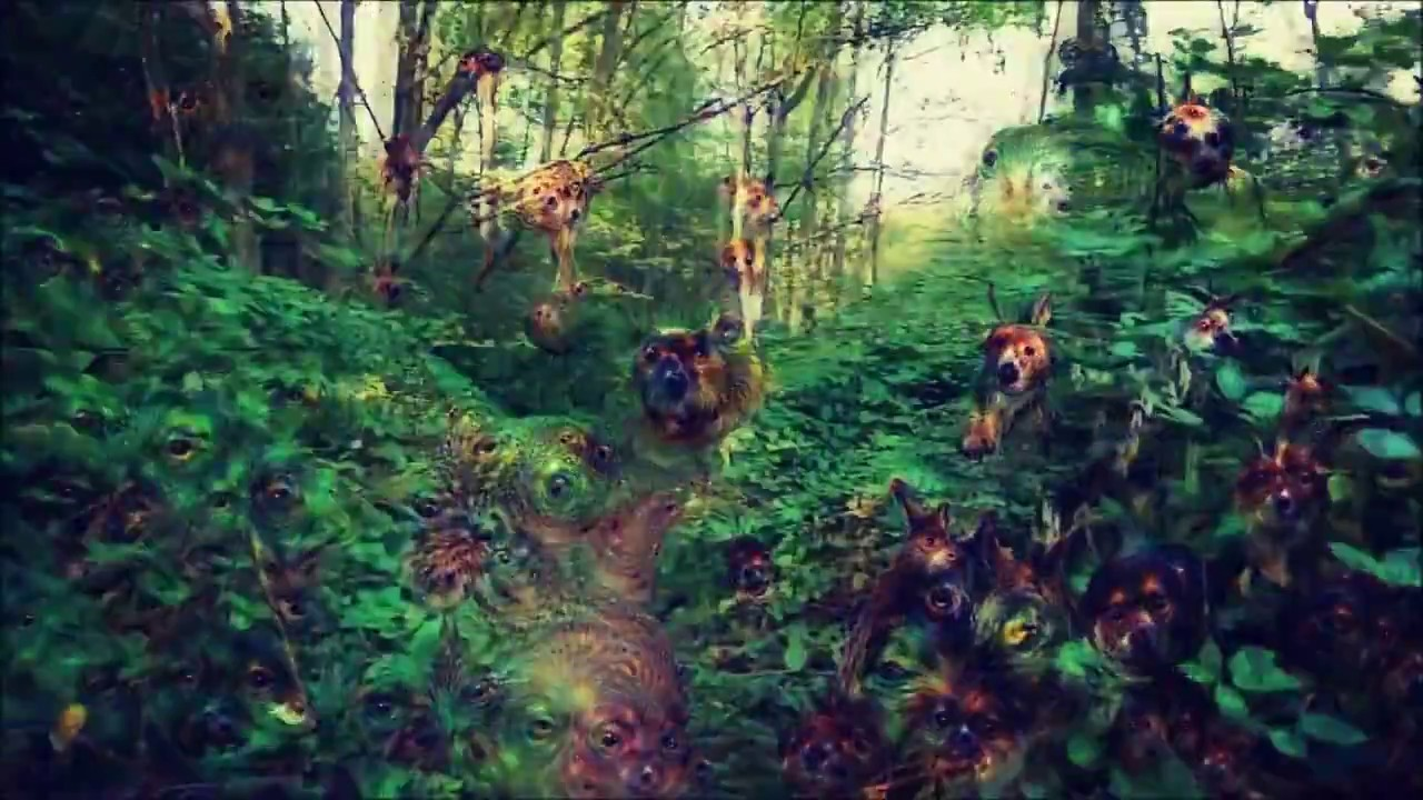 Acid Trippy Wallpapers Hd Deep Dream Trippy Forest Youtube