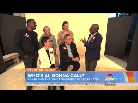 "Ernie Hudson and fellow original ""Ghostbusters"" stars exclusive on ""Today"" 11.5.14"