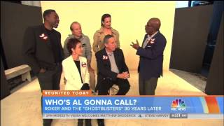 """Ernie Hudson and fellow original """"Ghostbusters"""" stars exclusive on """"Today"""" 11.5.14"""