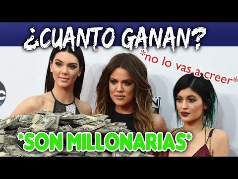 ¿Cuánto DINERO ganan las Kardashian | Jenner? *no lo vas a creer
