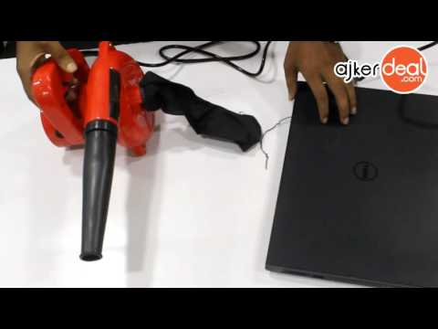 portable electric hand air blower