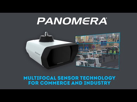 The Panomera multifocal sensor technology for commerce and industry
