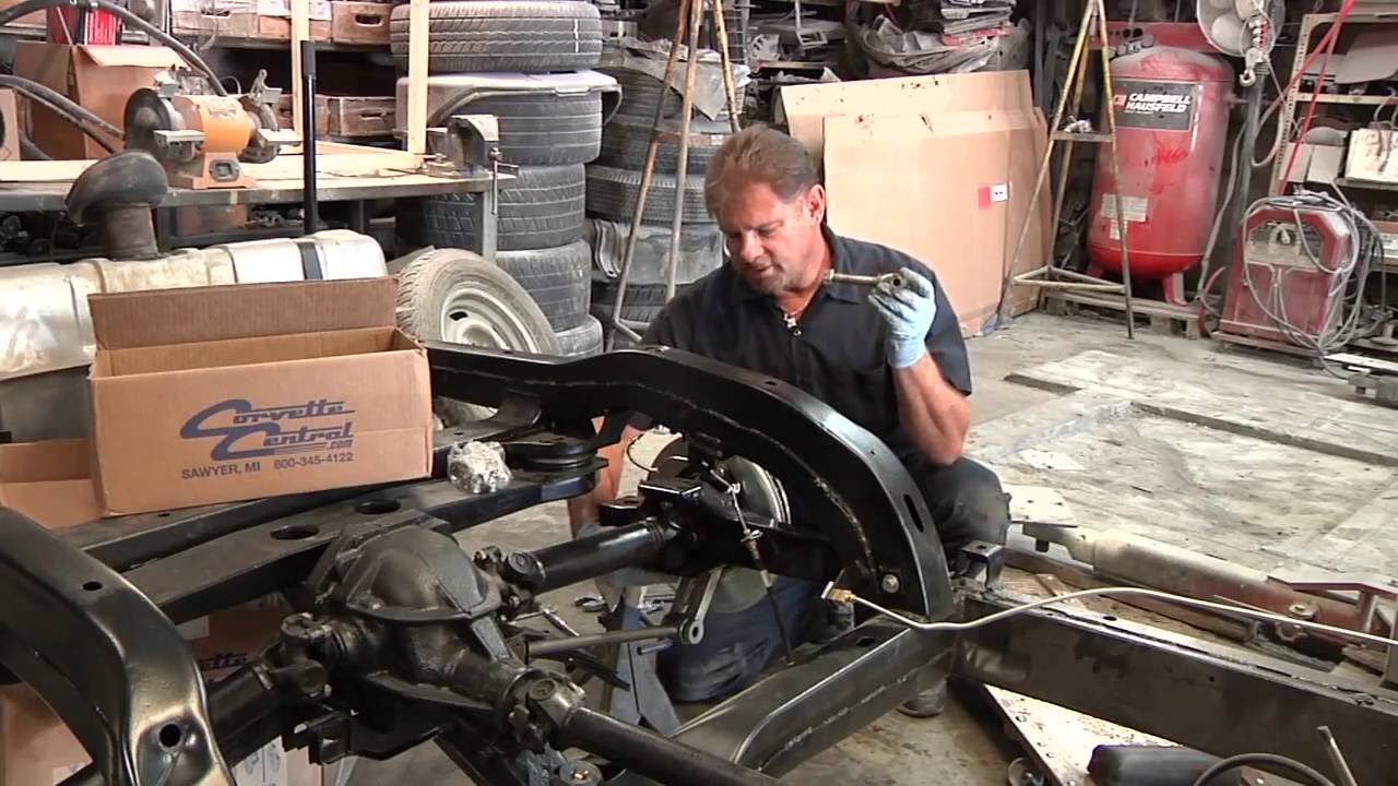 C2  C3 Corvette Rear Suspension Rebuild