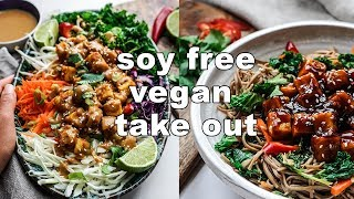 EPIC SOY FREE VEGAN TAKE OUT | burmese tofu