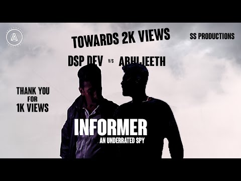 INFORMER AN UNDERRATED SPY | SHORT FILM | WITH SUBTITLES | SS PRODUCTIONS | AESTHETIC CREATORS | DVG