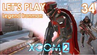 XCOM 2 Lets Play Deutsch - Gameplay Legende Ironman German - 34 POWERED ARMOR