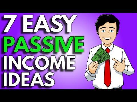 Passive Income Ideas | 7 Easy Ways To Earn Passive Income