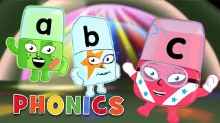 Phonics - Learn t๐ Read | Awesome Alphabet | Alphablocks