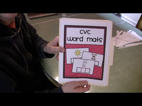 Cvc Words Activity Preschool Kindergarten Phonics Lesson Youtube
