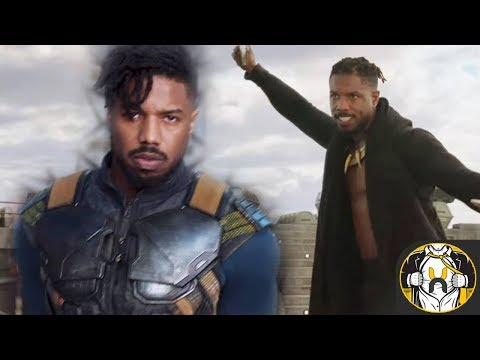 First Look at Michael B. Jordan's Erik Killmonger's & Origin Explained | Black Panther