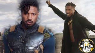 First Look at Michael B. Jordan's Erik Killmonger's & Origin Explained | Black Panther