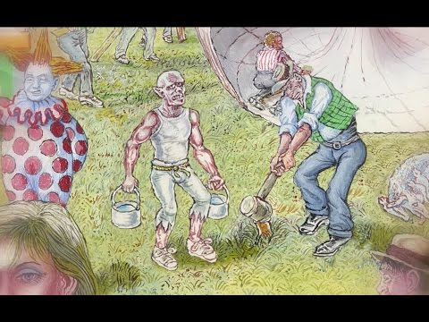 Circus | Written by Tom Waits, Narrated by Ken Nordine, Illustrated by Joe Coleman | SFWAM