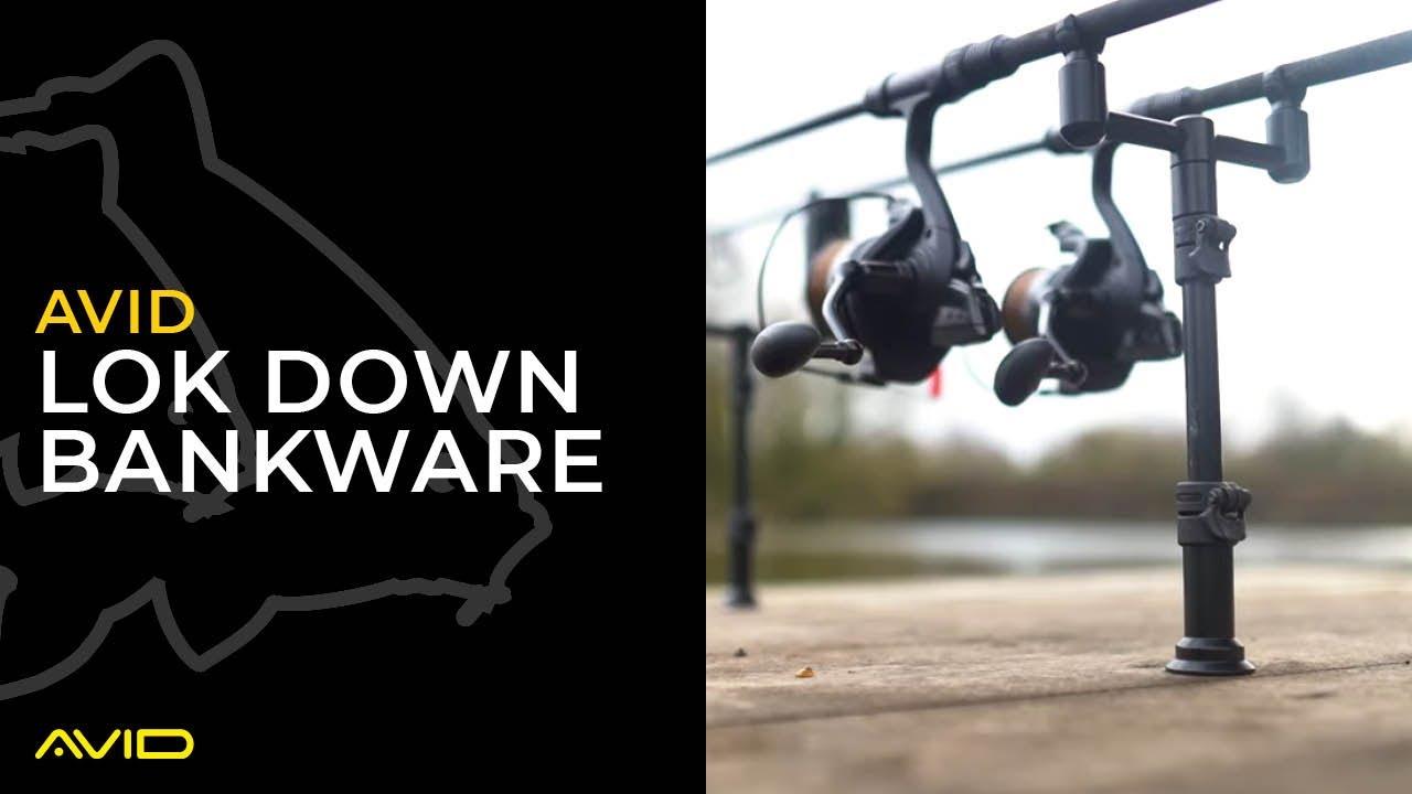 Avid Carp Lok Down Lockdown 2 /& 3 Rod Buzz Bars Diverses Tailles *