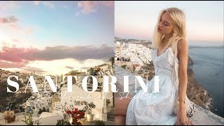 TRAVEL VLOG l SANTORINI l Part 2 Fira