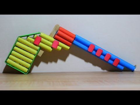 How To Make a Paper BB Gun | Toy Pistol BB-CO2 | Easy Paper Gun Tutorial