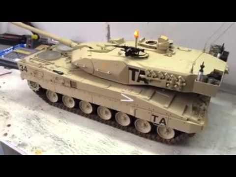 KPz Leopard 2 A4, 1/10, RC Panzer