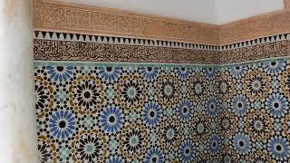 The Saadian tombs, Marrakech - DSC 0571