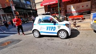 WORLD'S SILLIEST COP CAR!