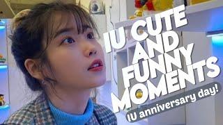 IU (이지은) Funny \u0026 Cute moments ♥︎