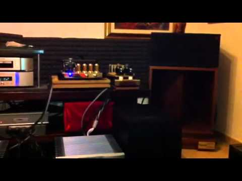 klipsch la scala ii heritage youtube. Black Bedroom Furniture Sets. Home Design Ideas