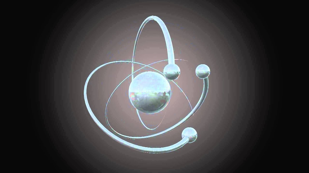 Chemistry 3d Wallpapers 3d Atom Smybol Free Footage Full Hd 1080p Youtube