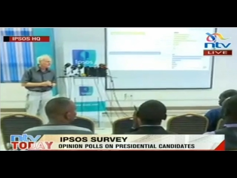 Opinion poll announcement on Presidential candidates  - IPSOS Survey
