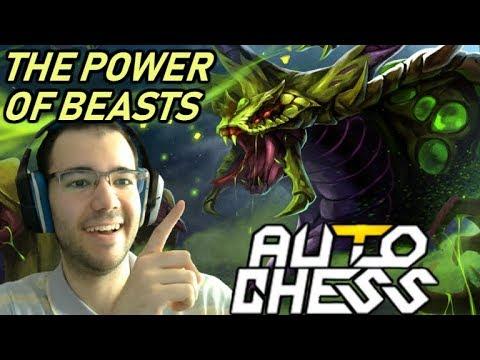 Witness THE POWER Of BEASTS | Dota Auto Chess Gameplay 93
