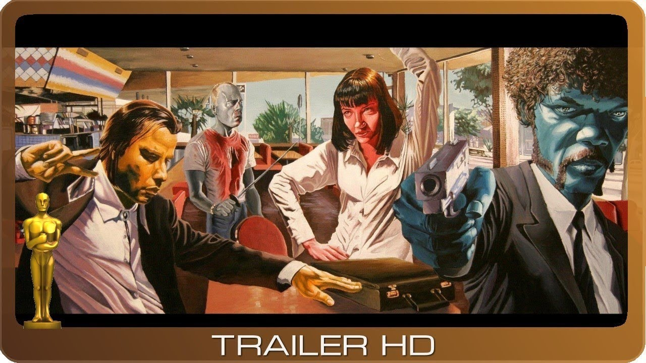 Pulp Fiction ≣ 1994 ≣ Trailer #1 ≣ German | Deutsch